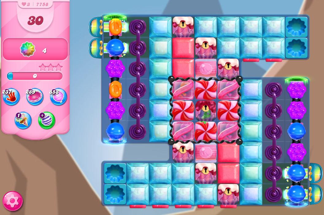 Candy Crush Saga level 7758