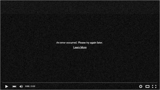 YouTube mostra aos usuários Adblock Plus uma mensagem de erro em vez de anúncios
