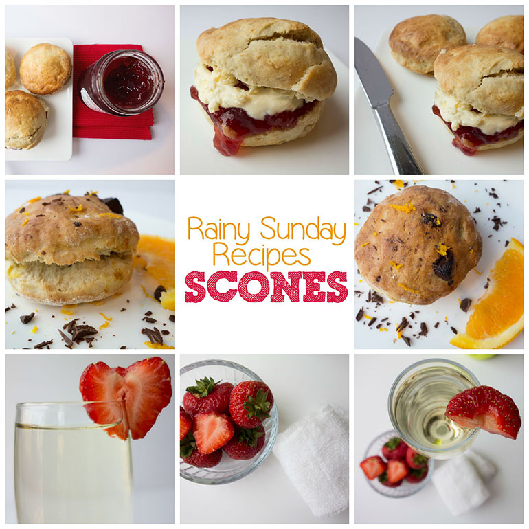 Rainy Sunday Recipes | Afternoon Tea Scones