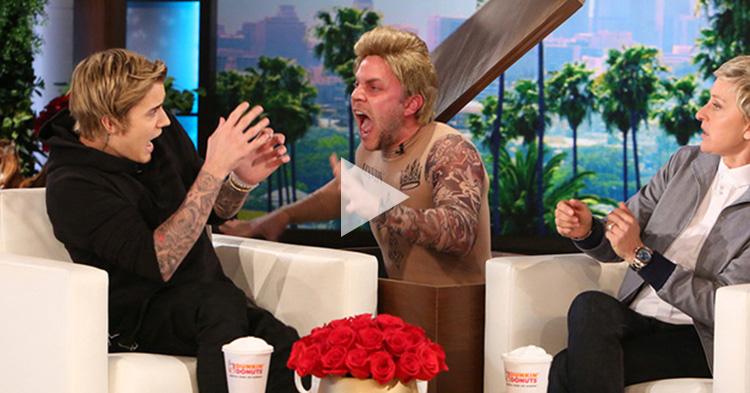 Celebrities who gets scared by Ellen DeGeneres