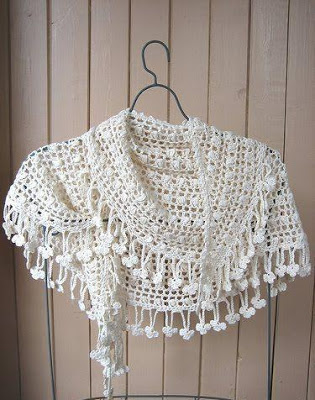 Mini Chal o Bufanda a Crochet