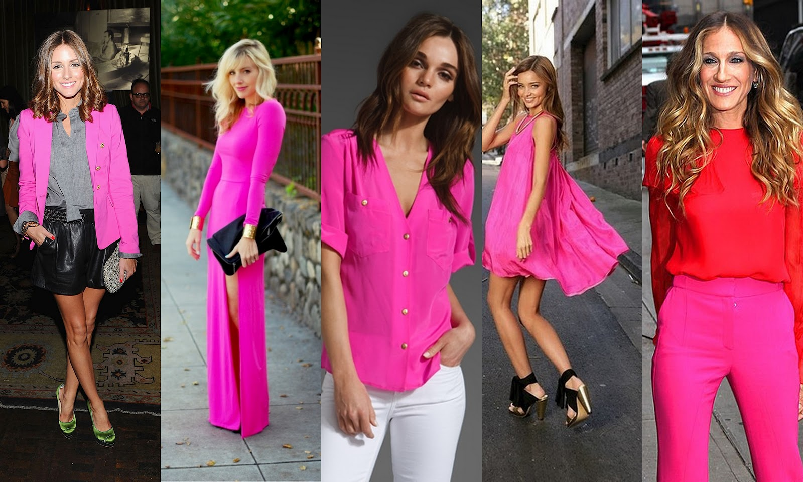 And For My Skeptics Who Still Arenu0027t Sure They Can Pull Off The Fuschia Trend