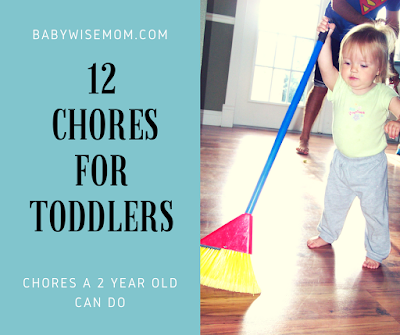 12 Chores Your Toddler Can Do