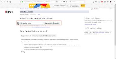 Cara Membuat Custom Domain Email Dengan Yandex Mail