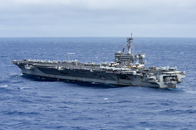 USS CARL VINSON CONDUCTS SOUTH CHINA SEA PATROL
