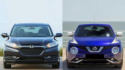 Perbandingan Honda HR-V vs Nissan Juke