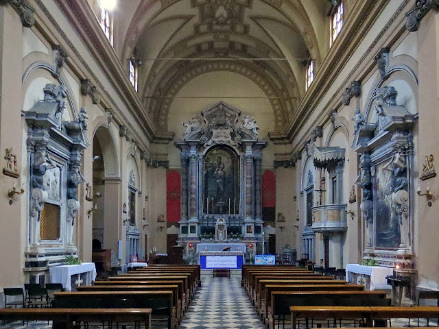 Interior of the church of San Sebastiano, Livorno