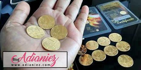 Beli Emas Tidak Mengurangkan Duit!