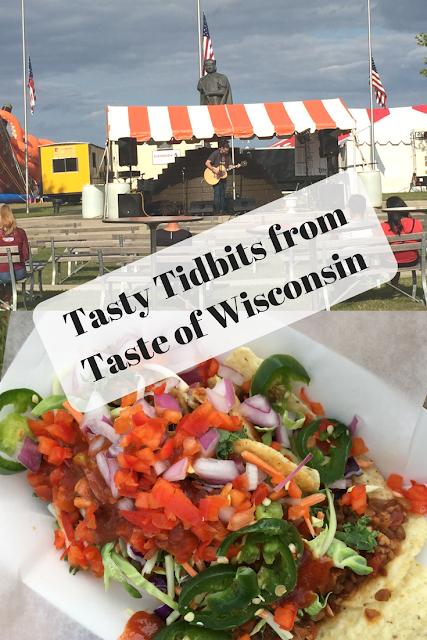 Tasty Tidbits from Taste of Wisconsin
