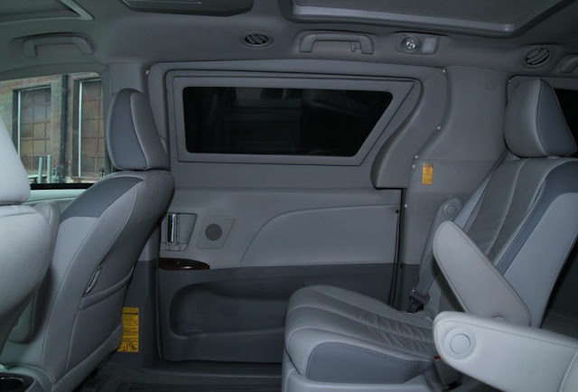 Bulletproof Vehicle Interior