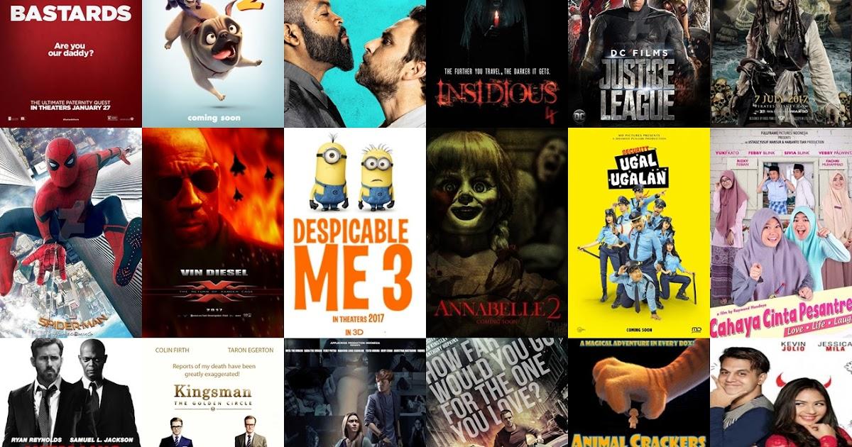 Daftar Lengkap Film Terbaru Rilis Sepanjang tahun 2017