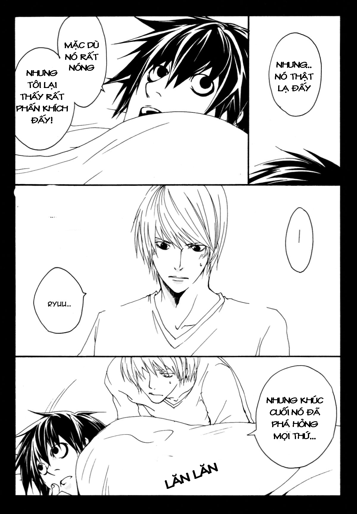 Hình ảnh 033 in Death Note Doujinshi - Feather Plus