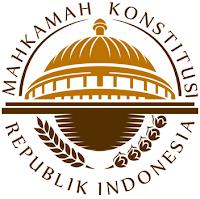 logo / lambang Mahkamah Konstitusi