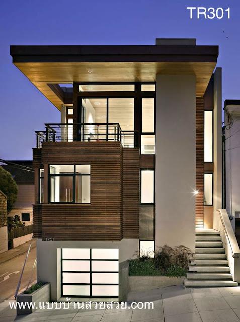แบบบ้านสวย บ้าน 3 ชั้น