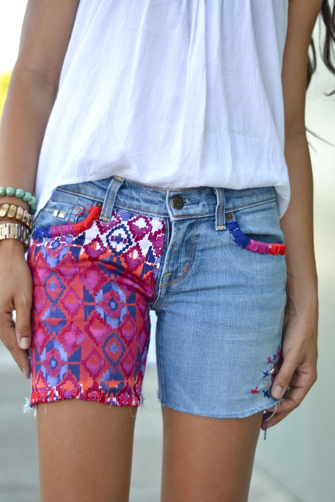 Restyle.Restore.Rejoice: DIY Cutoff Shorts