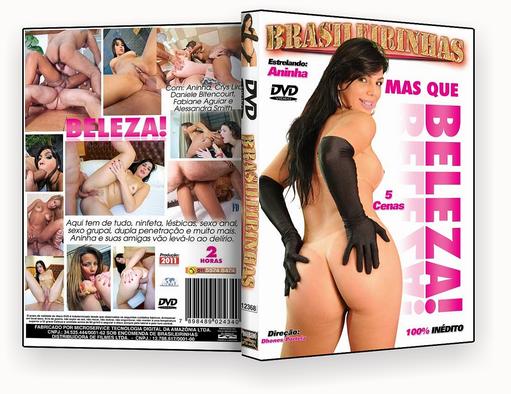CAPA DVD – Brasileirinhas – Mas Que Beleza xxx 2018 – iso