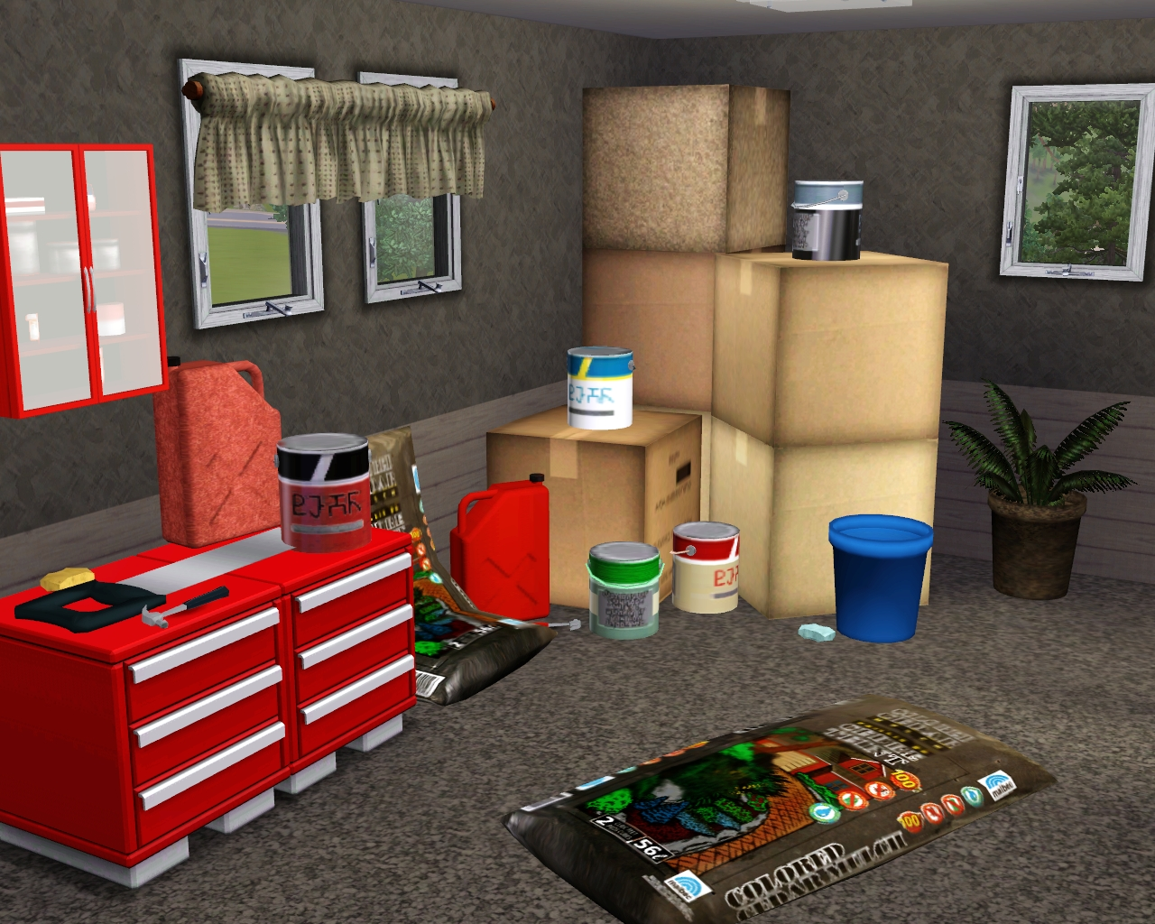 My Sims 3 Blog Most Viewed Garage Clutter By Fresh