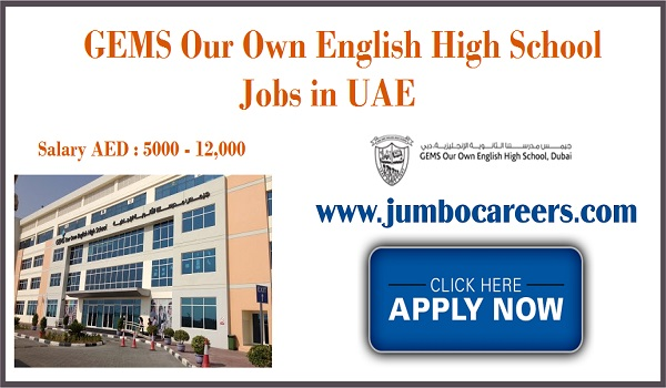 latest UAE jobs for Indians, Available job openings in UAE,