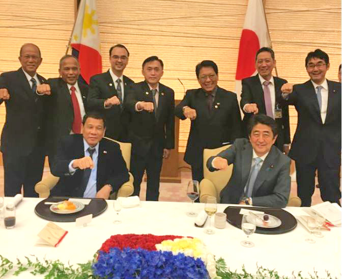 What came out of Duterte's three-day state visit to Japan?