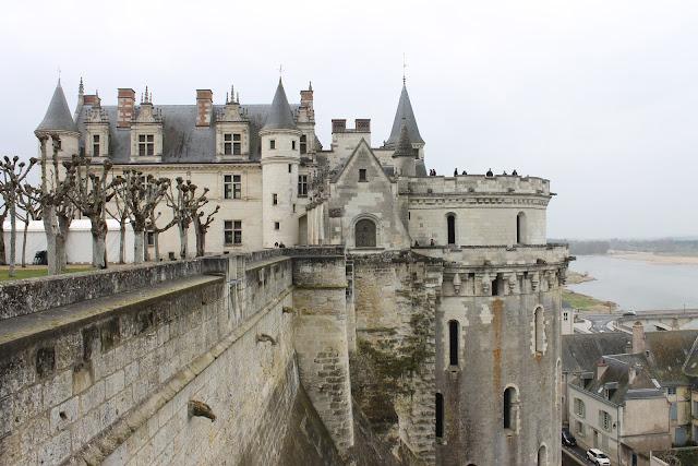 Zamek w Amboise
