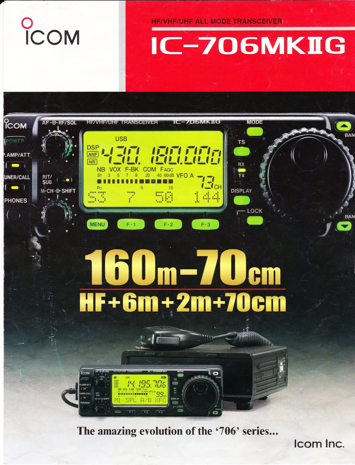 PE4BAS Amateur Radio Weblog: Icom IC-706 MKIIG PLL problem