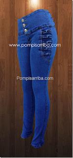 Quien Vende pantalon para dama de mayoreo levanta cola o corte colombiano barato