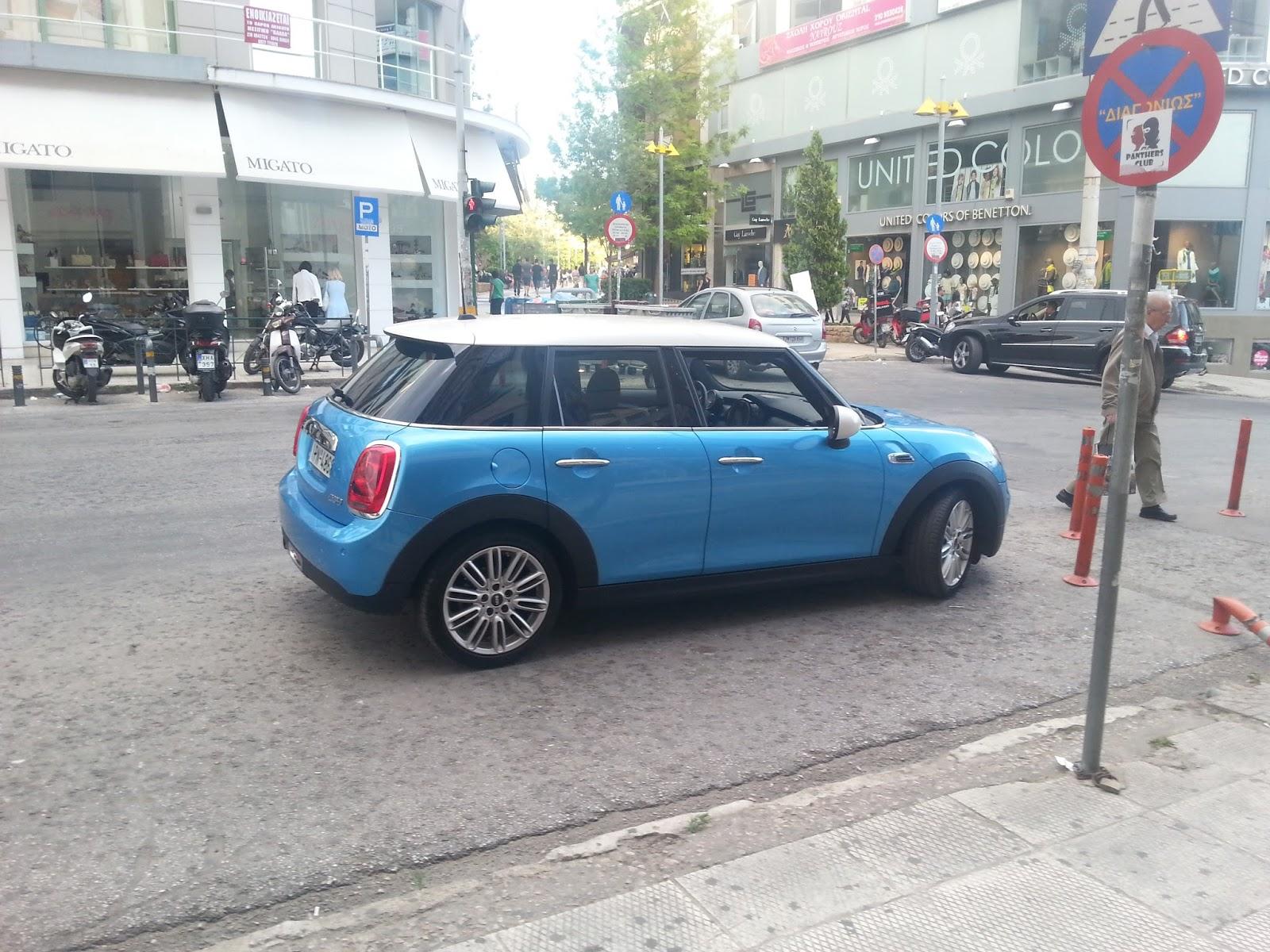 f5 Το πεντάπορτο Mini Cooper είναι... καρτ με 5 πόρτες