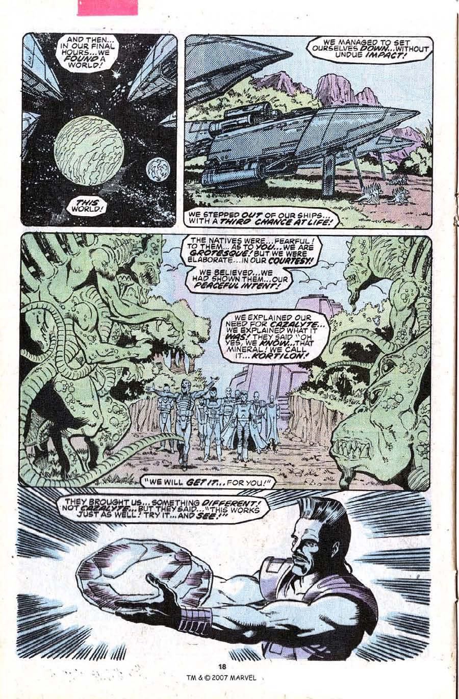 Read online Silver Surfer (1987) comic -  Issue #23 - 20
