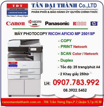 Ricoh mp 2501sp