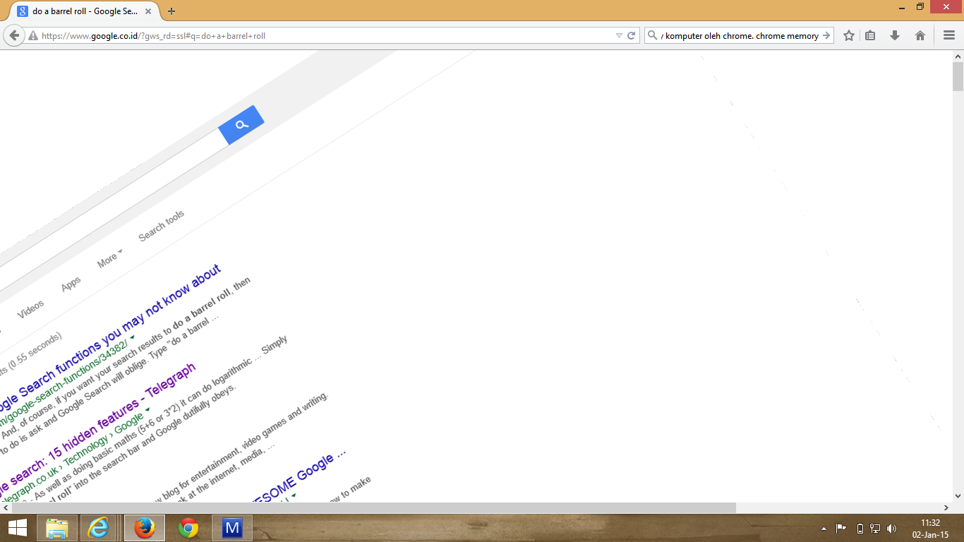 Do A Barrel Roll Google Tricks Fitur Unik Easter Egg Google Aduk Campur Aduk