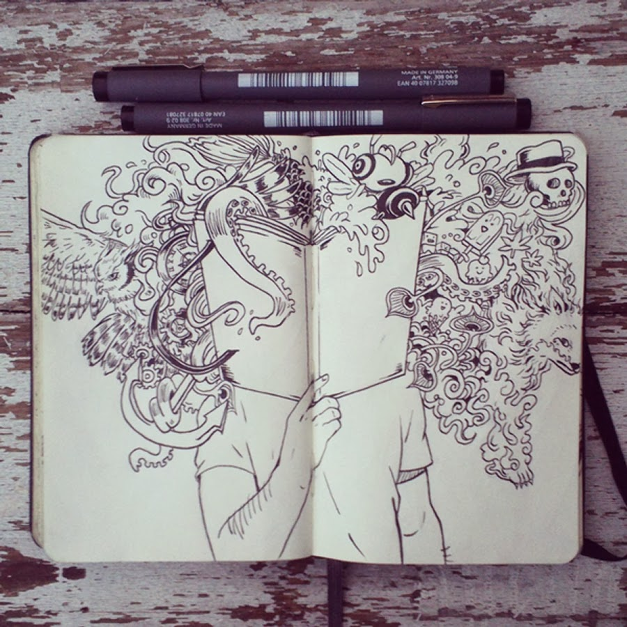 05-#15-The-Power-of-Doodles-365-Days-of-Doodles-Gabriel-Picolo-www-designstack-co