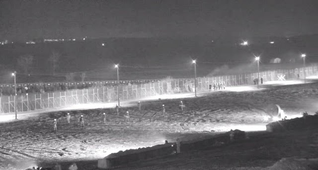 Έβρος: Απετράπη βραδινός αιφνιδιασμός από παράνομους μετανάστες (ΒINTEO)