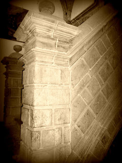 Escadaria do Convento  de la Merced, em Cusco
