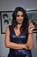Sanjana looks happy in sparkling short Deep neck Purple Gown ~  Exclusive 32.JPG