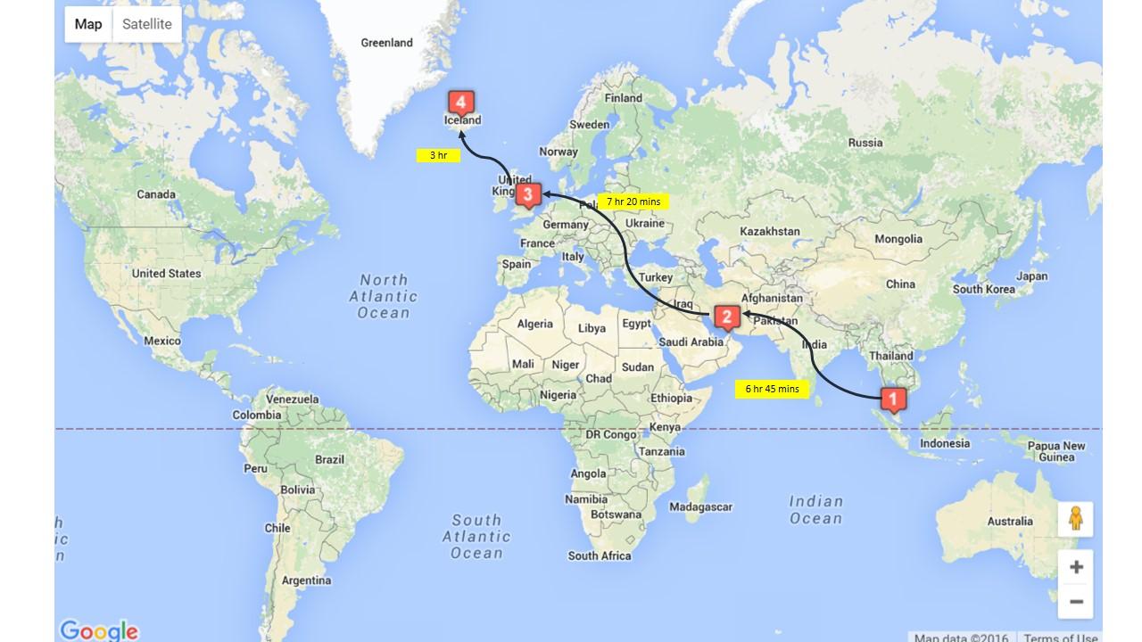 Jelajah Iceland Travel Itinerary