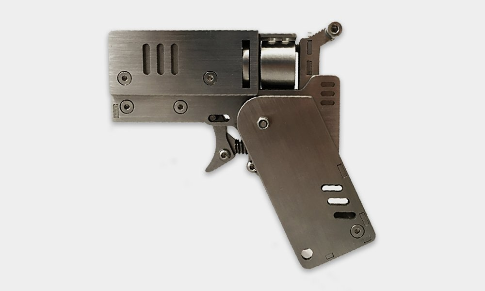 This folding gun looks just like a smartphone!