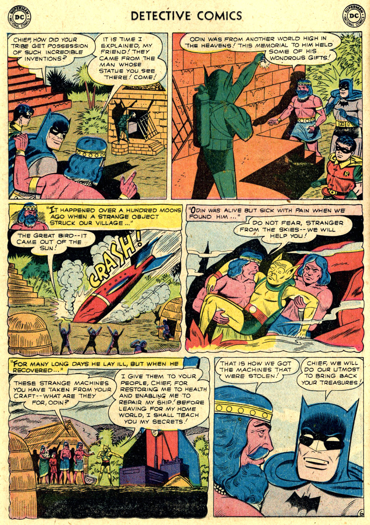 Read online Detective Comics (1937) comic -  Issue #263 - 8