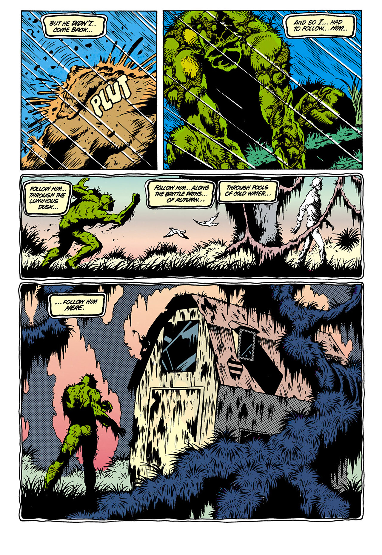 Swamp Thing (1982) Issue #28 #36 - English 10