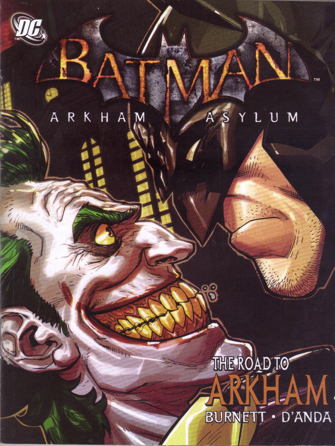 Batman: Arkham Asylum: The Road to Arkham 1 Page 1