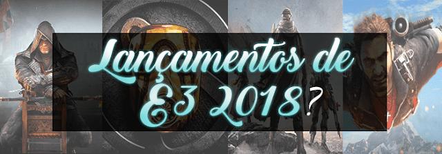 games de E3 2018