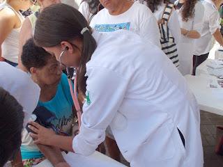 """UNIFESO participou da II Ação Social em Combate à Violência Contra a Mulher, organizada pelo Grupo Tático """"Guardiões da Vida"""""""