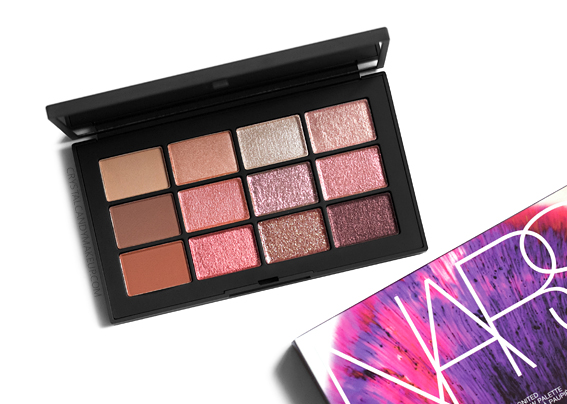 NARS Ignited Eyeshadow Palette Review Photos Swatches