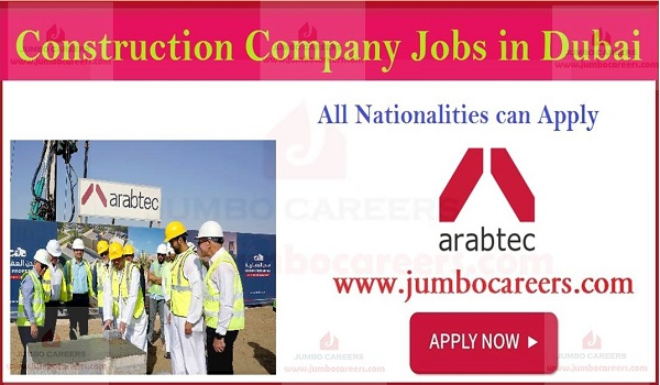 Arabtec Construction LLC jobs and careers, UAE job with salary,