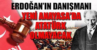 Yeni Anayasa'da Atatürk olmayacak