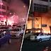 (Video) Mercun naga dibakar sekumpulan kanak-kanak tersasar ke gerai mercun