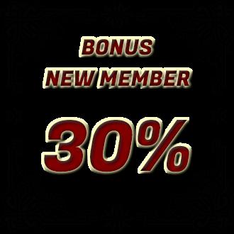 PokerMuara promo bonus 30% new member