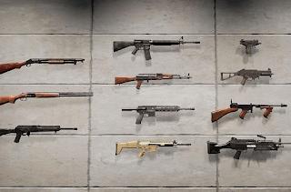 Штурмовые винтовки (Автоматы) в Playerunknown's Battlegrounds