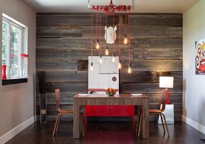 10 desain ruang makan bergaya romantis yang indah dan unik