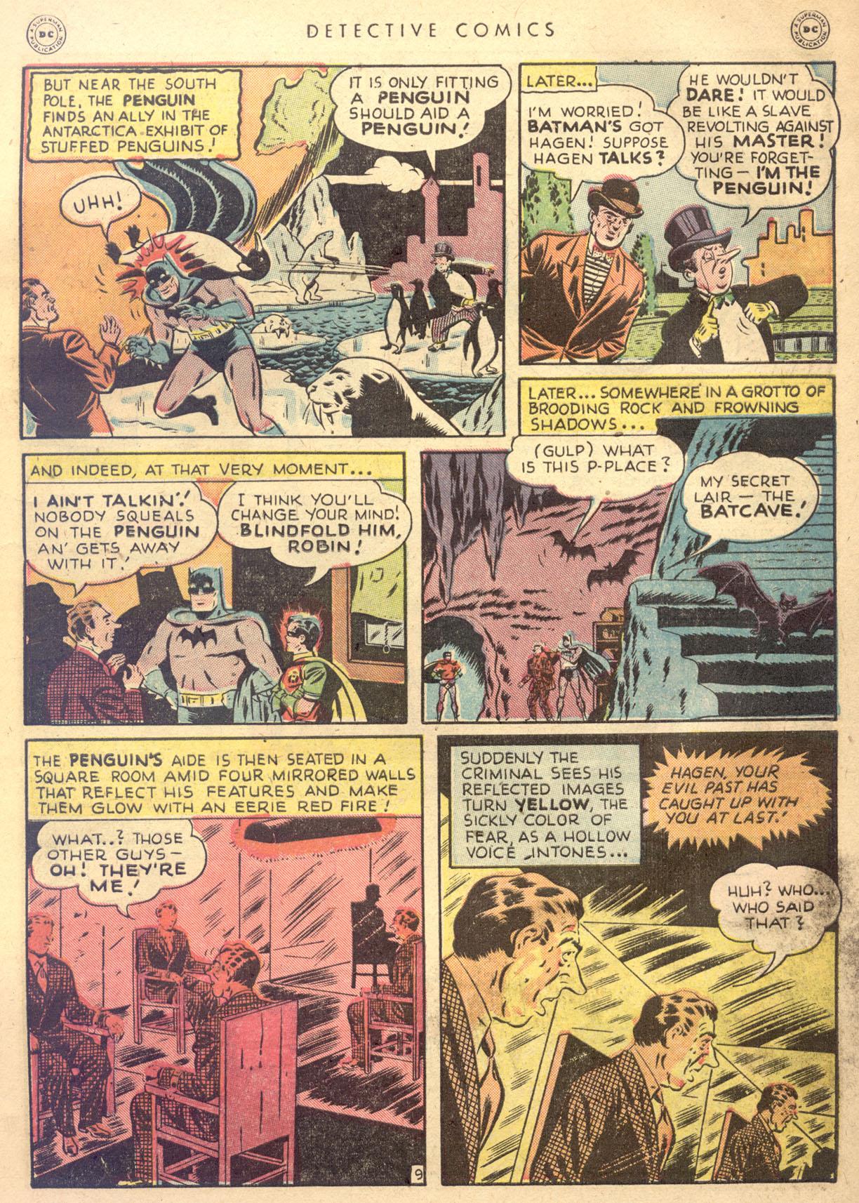 Read online Detective Comics (1937) comic -  Issue #134 - 11