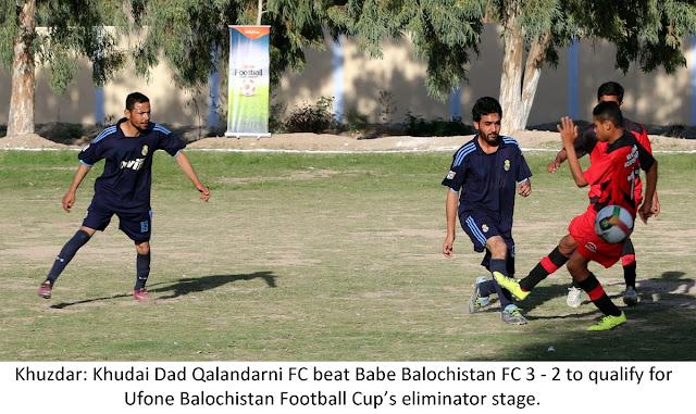 Ufone Balochistan Football Cup: Khudai Dad Qalandarni Football Club emerges victorious in Khuzdar qualifiers